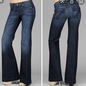 7 for all mankind jeans size 28 Dojo